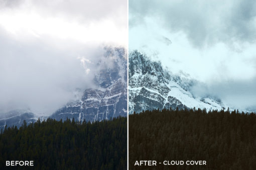 Cloud Cover - Adventure Series - True North Capture One Styles by Mark Binks - FilterGrade