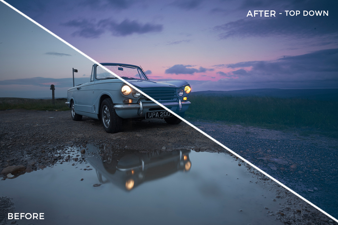 Top Down - Adventure Series - Heading South Capture One Styles by Mark Binks - FilterGrade