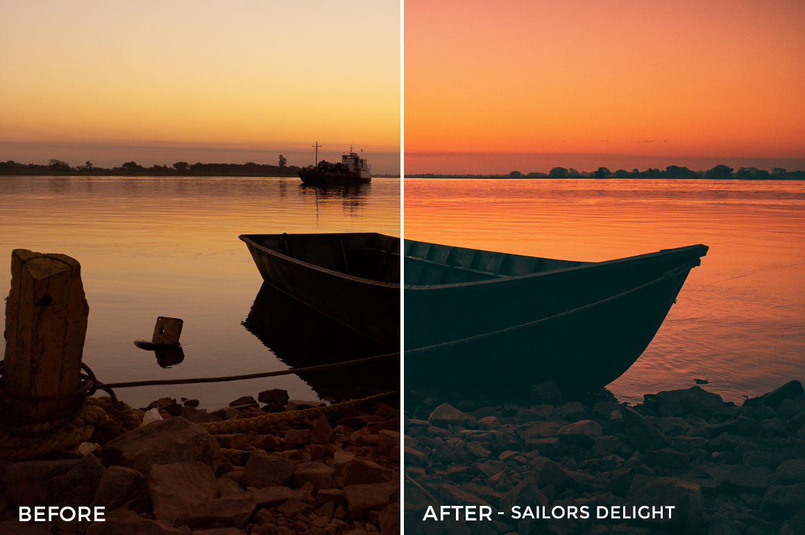 Sailors Delight - Adventure Series - Heading South Capture One Styles by Mark Binks - FilterGrade