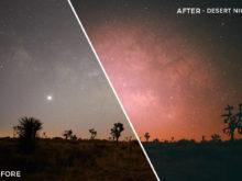 Desert Night - Adventure Series - Heading South Capture One Styles by Mark Binks - FilterGrade