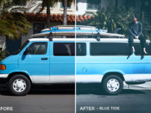 Blue Tide - Adventure Series - Heading South Capture One Styles by Mark Binks - FilterGrade