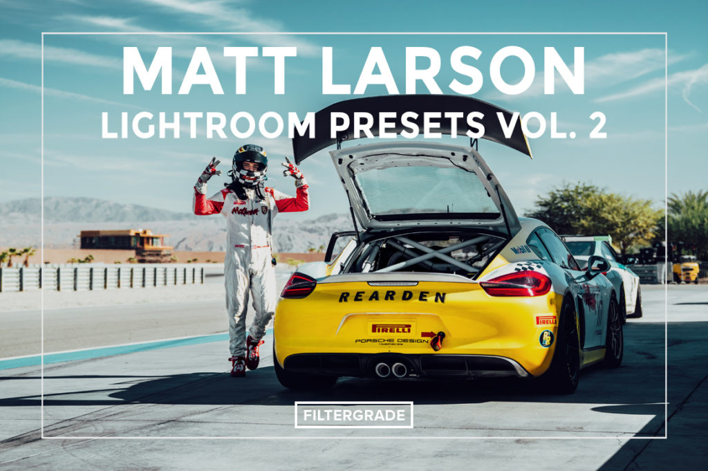 *Featured - Matt Larson Lightroom Presets Vol. 2 - FilterGrade