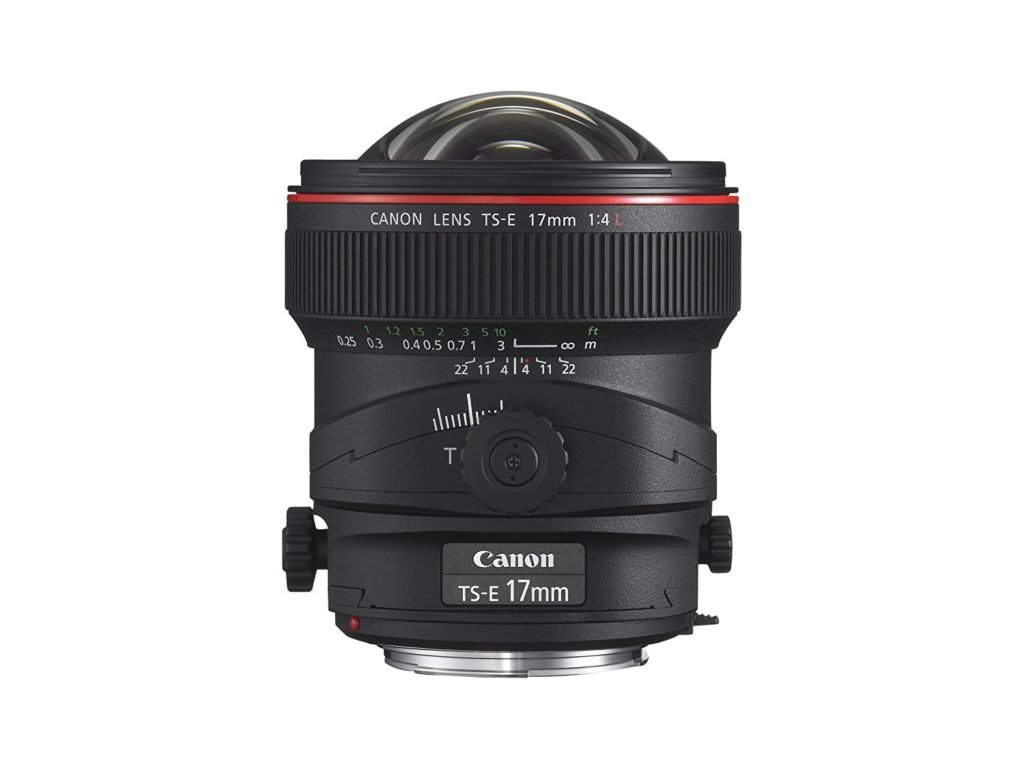 canon tilt shift lens for real estate photography