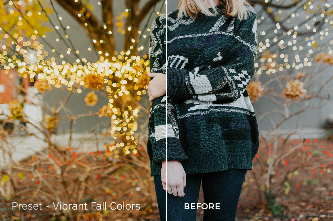 Vibrant Fall Colors - Exposure Empire Lightroom Presets Vol. 2 - FilterGrade