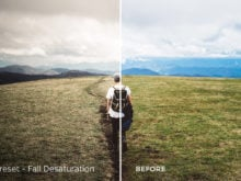 Fall Desaturation - Exposure Empire Lightroom Presets Vol. 2 - FilterGrade