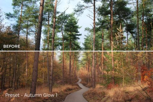 Autumn Glow - Exposure Empire Autumn Lightroom Presets Vol. 1 - FilterGrade