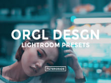 Featured Orgl Desgn Lightroom Presets - Filtergrade