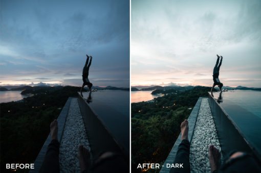 Dark - Andrew Livingston Lightroom Presets - FilterGrade
