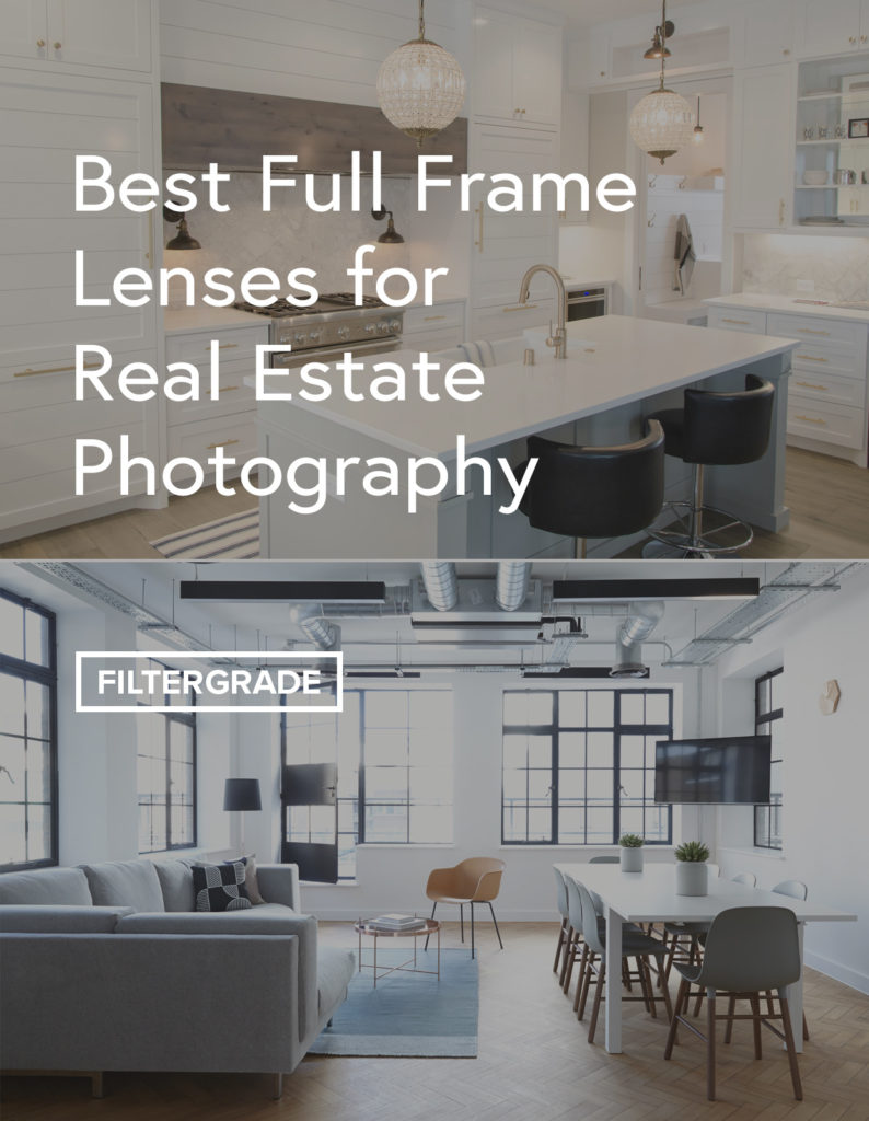 Covering the best full frame lenses for real estate photography. View details and key features on professional lenses from Canon, Nikon, Sony, Sigma, and more.