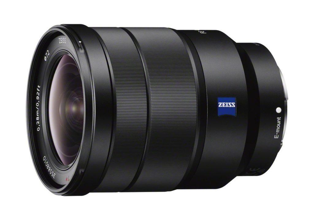 Sony Vario-Tessar T* FE 16–35 mm F4 ZA OSS lens