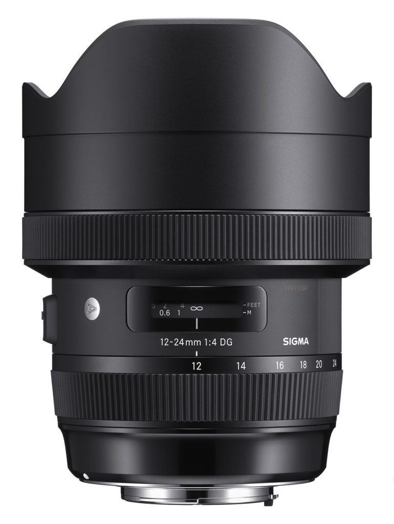 Sigma 12-24mm f/4 DG HSM lens for Nikon F