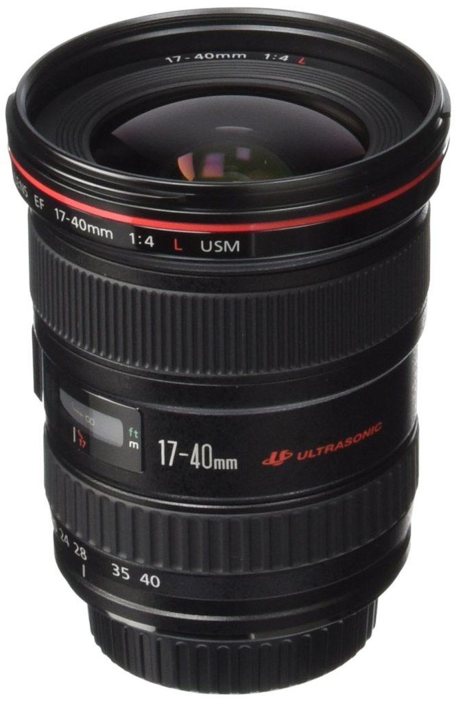 Canon EF 17-40mm f:4L USM lens
