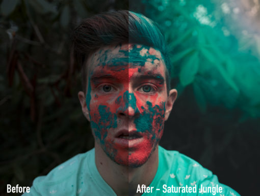 SATURATEDJUNGLE - Moody Earth Tone Lightroom Presets by Brett Harpster - FilterGrade