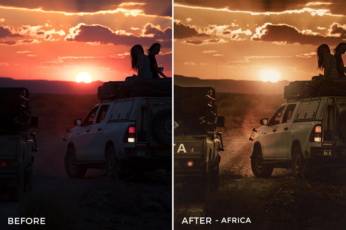 Africa - Oleg Cricket Lightroom Presets - FilterGrade