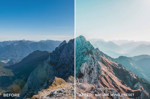 Nature Wind Preset- Stephen Karg Xtravagant Essentials Lightroom Presets- FilterGrade