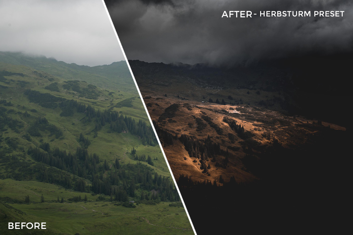 Herbsturm Preset - Stephen Karg Xtravagant Essentials Lightroom Presets- FilterGrade