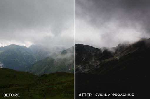 Evil is Approaching - Stephen Karg Xtravagant Essentials Lightroom Presets- FilterGrade
