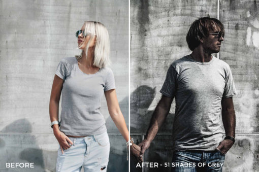 51 Shades of Grey - Stephen Karg Xtravagant Essentials Lightroom Presets- FilterGrade