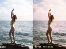 Pink Skies - Noah Wolfe Lightroom Presets - FilterGrade