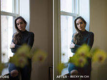 Becky in Chi - Noah Wolfe Lightroom Presets - FilterGrade