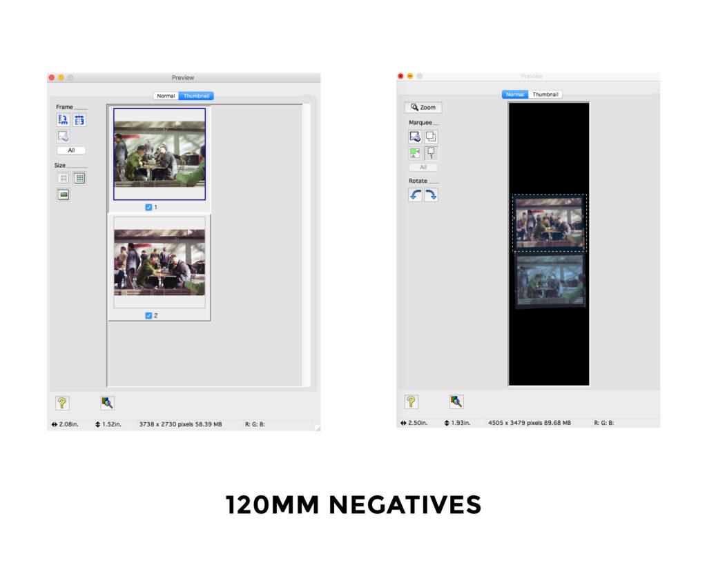 Multiple Frames Film Scanner Vendor Driver