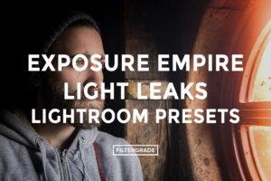 9 Exposure Empire Light Leaks Lightroom Presets - FilterGrade