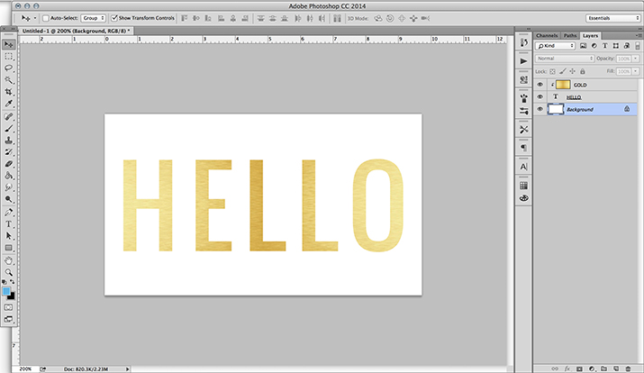 photoshop-text-effect-tutorials-clipping-mask