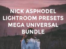 * Nick Asphodel Lightroom Presets Mega Universal Bundle - FilterGrade