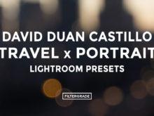 * David Duan Castillo Travel x Portrait Lightroom Presets - FilterGrade
