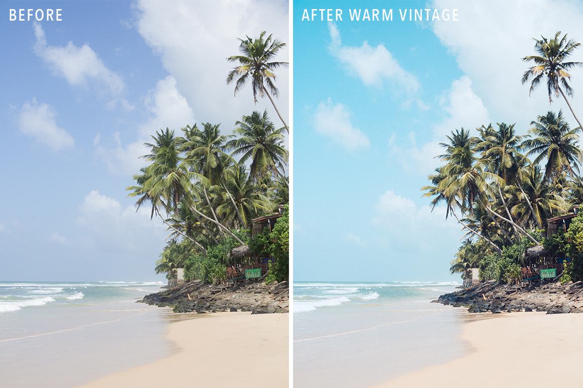 Warm Vintage - Sunshine Seeker Island Light Lightroom Presets - FilterGrade