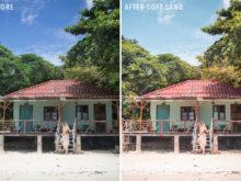 Soft Sand - Sunshine Seeker Island Light Lightroom Presets - FilterGrade