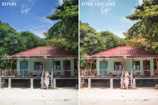 Soft Sand - Sunshine Seeker Island Light Lightroom Presets - FilterGrade
