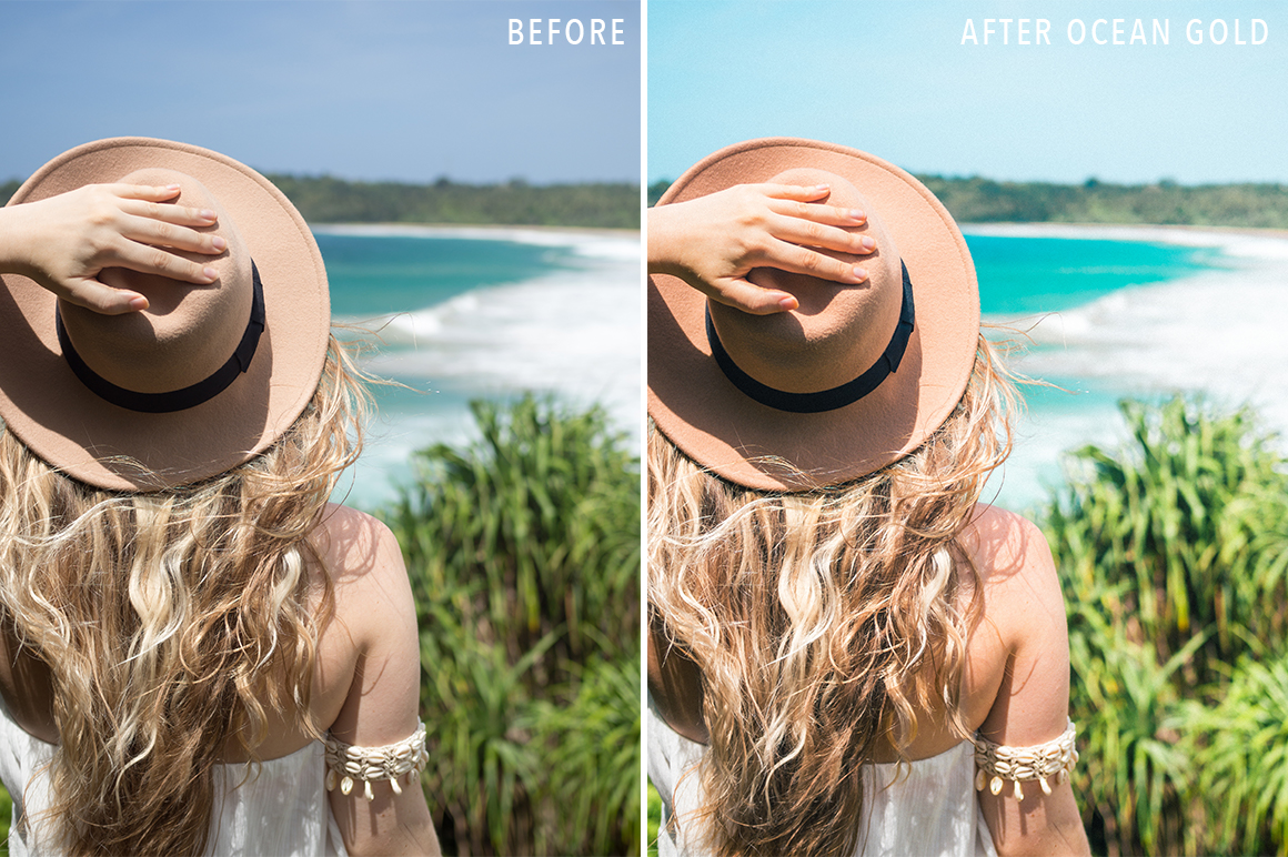 Ocean Gold - Sunshine Seeker Island Light Lightroom Presets - FilterGrade