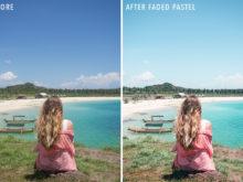 Faded Pastel - Sunshine Seeker Island Light Lightroom Presets - FilterGrade