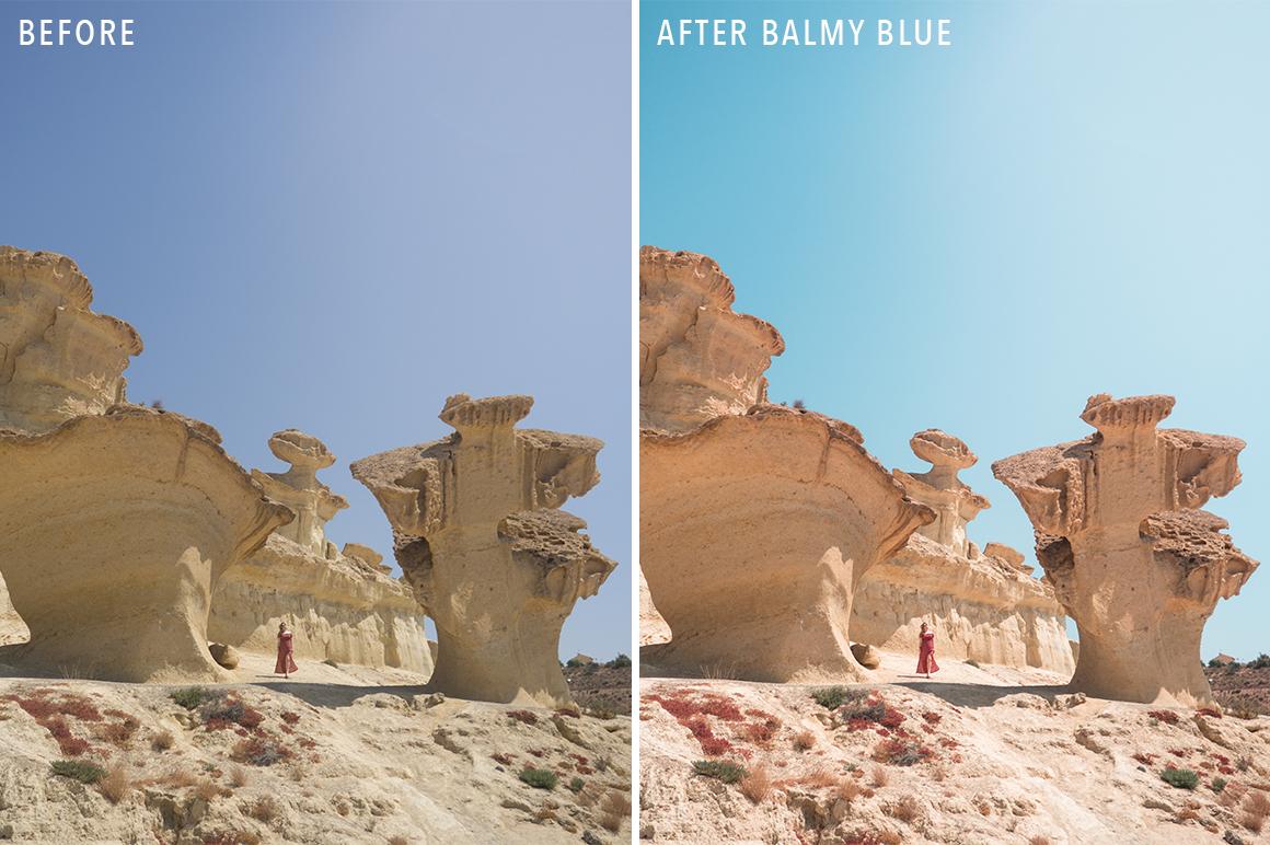 Balmy Blue - Sunshine Seeker Island Light Lightroom Presets - FilterGrade