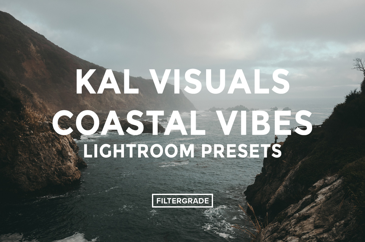 10 Featured- Kal Visuals Coastal Vibes Lightroom Presets - FilterGrade