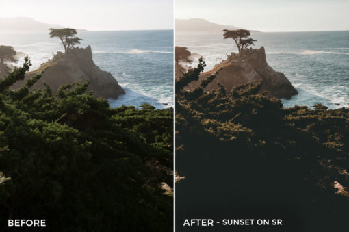 9 Sunset on SR - Kal Visuals Coastal Vibes Lightroom Presets - FilterGrade