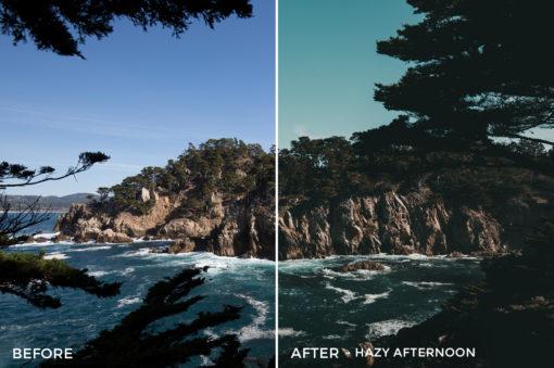5 Hazy Afternoon - Kal Visuals Coastal Vibes Lightroom Presets - FilterGrade