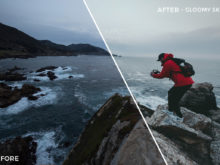 4 Gloomy SKies - Kal Visuals Coastal Vibes Lightroom Presets - FilterGrade