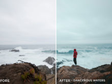 2 Dangerous Waters - Kal Visuals Coastal Vibes Lightroom Presets - FilterGrade