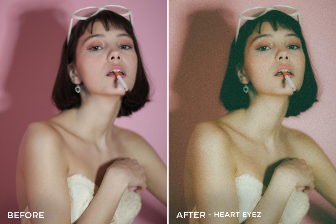 Heart Eyez - Rachel Lazatin Lightroom Presets. FilterGrade