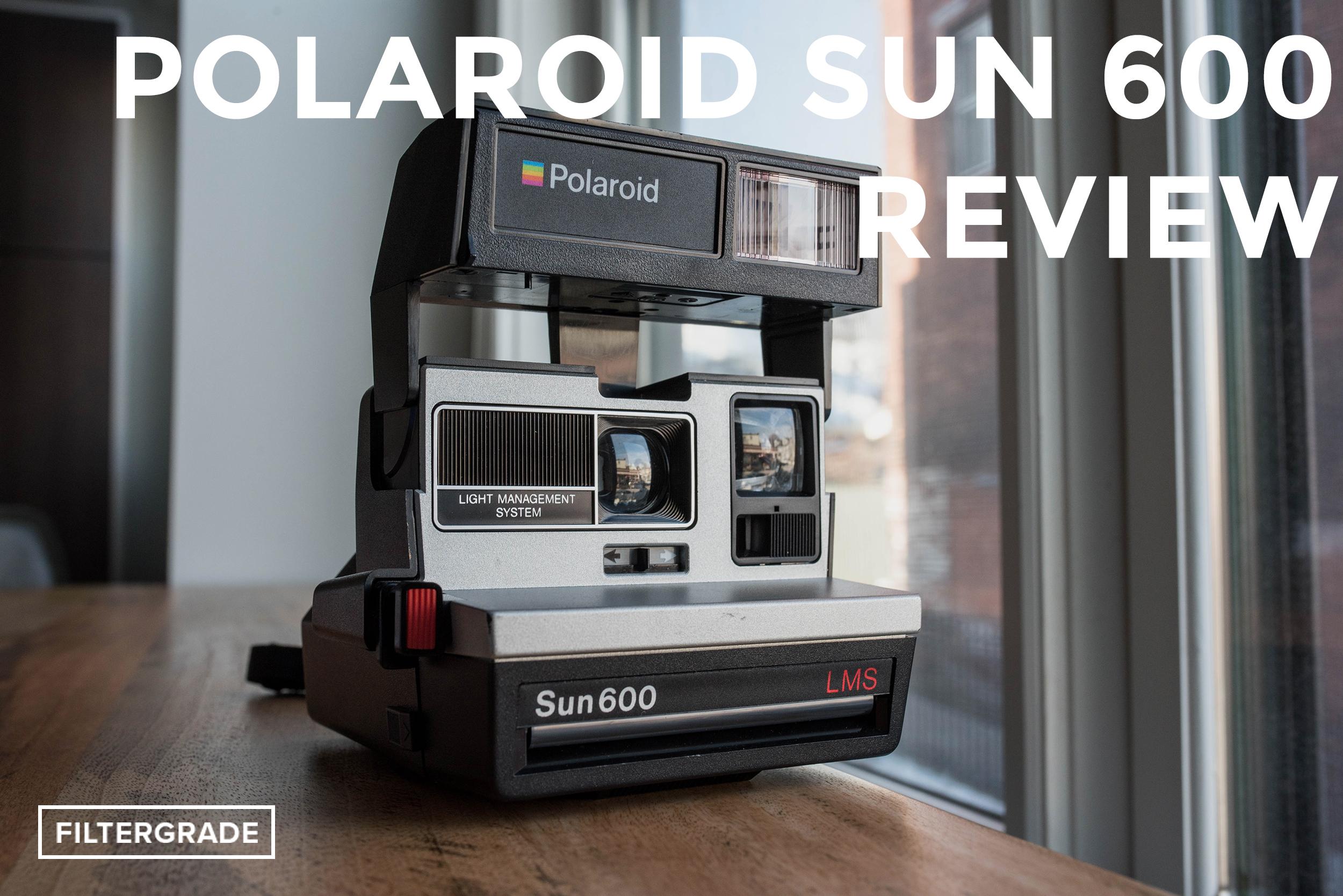 Polaroid Sun 600 Instant Film Camera Review - FilterGrade