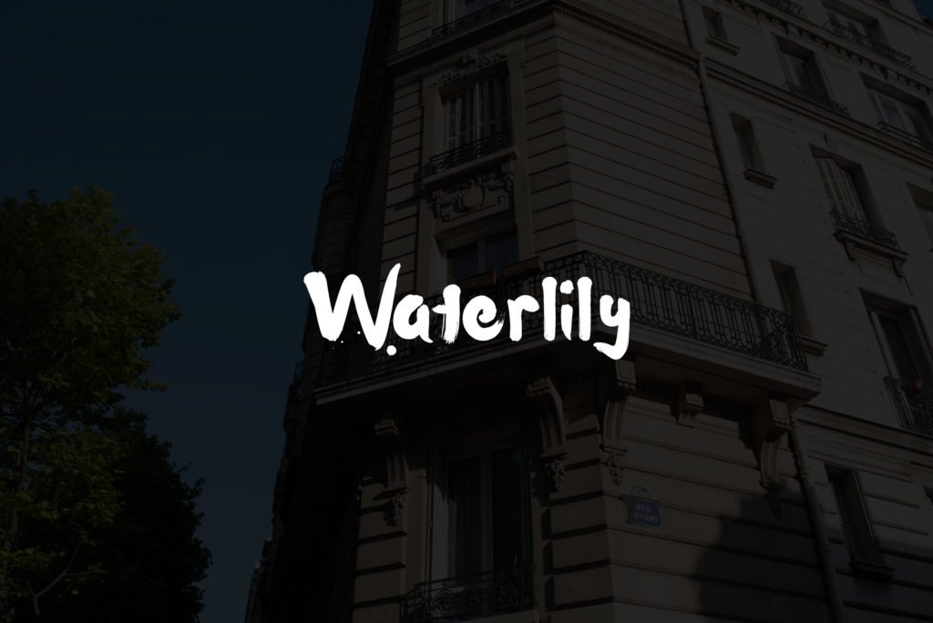 fonts-for-photographers-waterlily