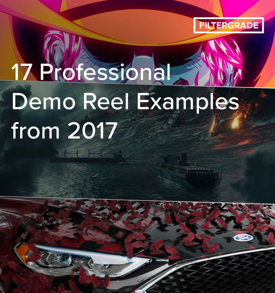 17 Professional Demo Reel Examples from 2017