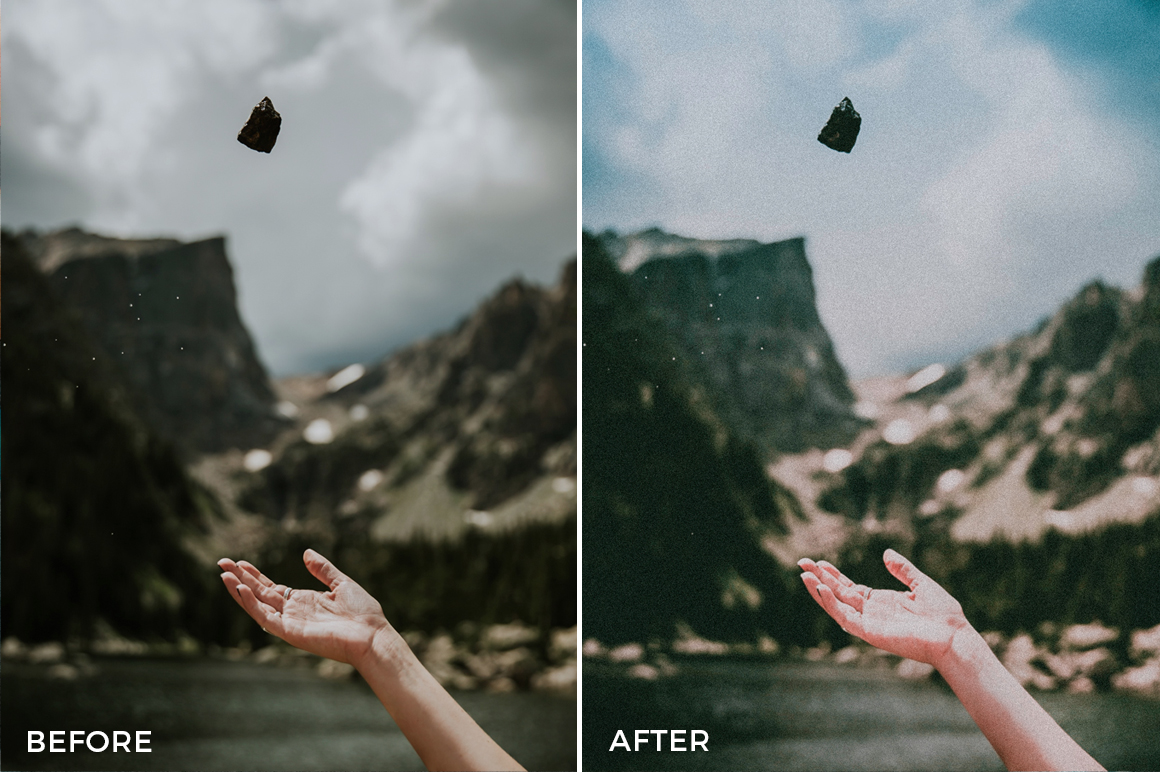 4 Nick Asphodel Film Lightroom Presets - FilterGrade