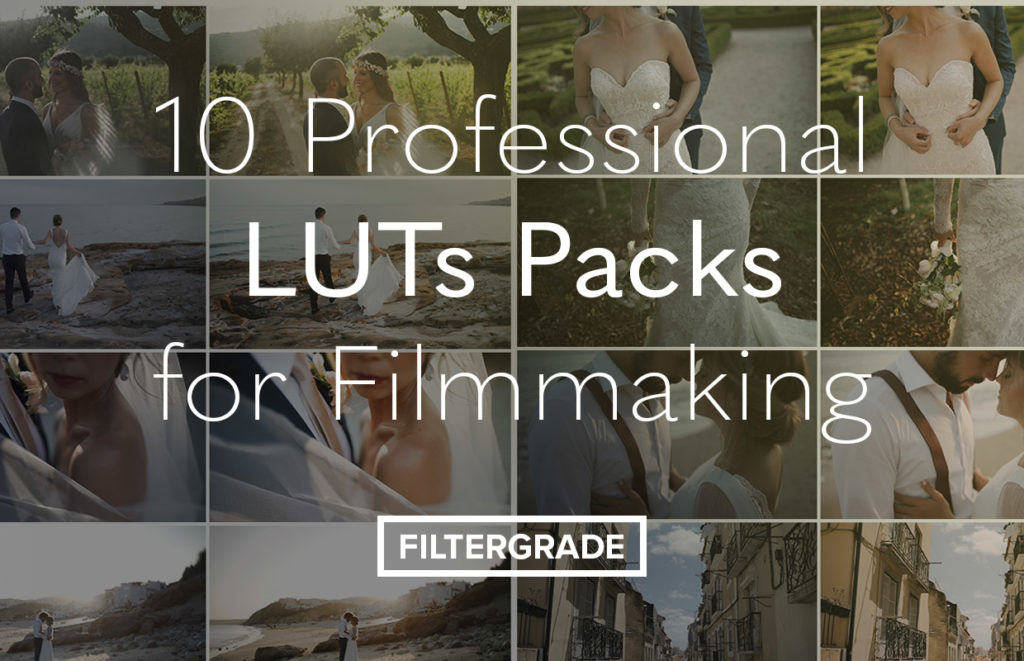 Find versatile and professional LUTs packs for filmmaking.