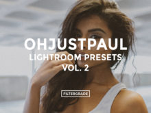 (*)Featured- Ohjustpaul Lightroom Presets Vol. 2 - FilterGrade