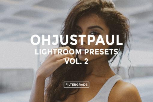 (*)Featured- Ohjustpaul Lightroom Presets Vol. 2 - FilterGrade
