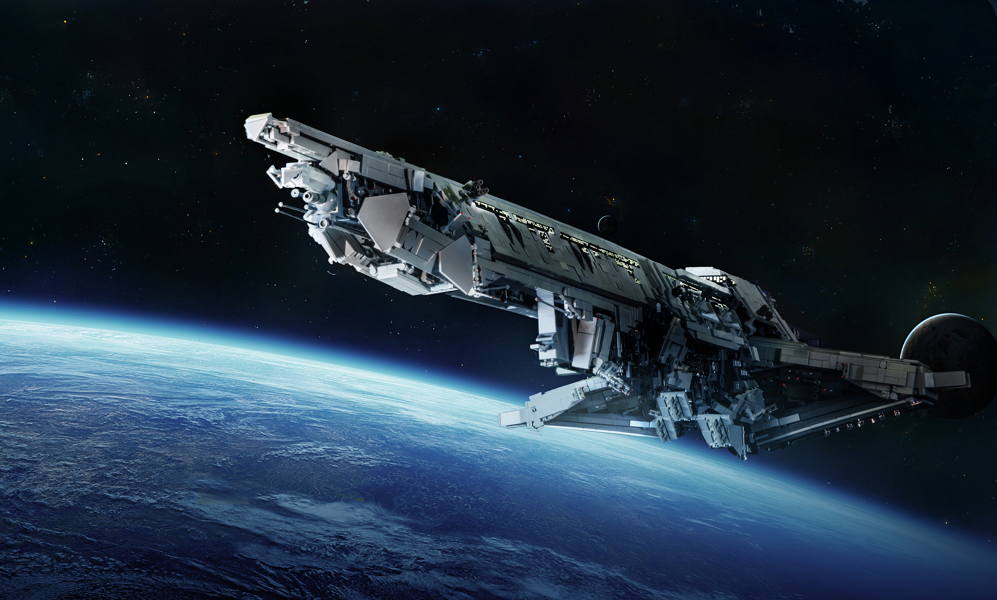 space-inspired-photoshop-manipulations-lego-spaceship