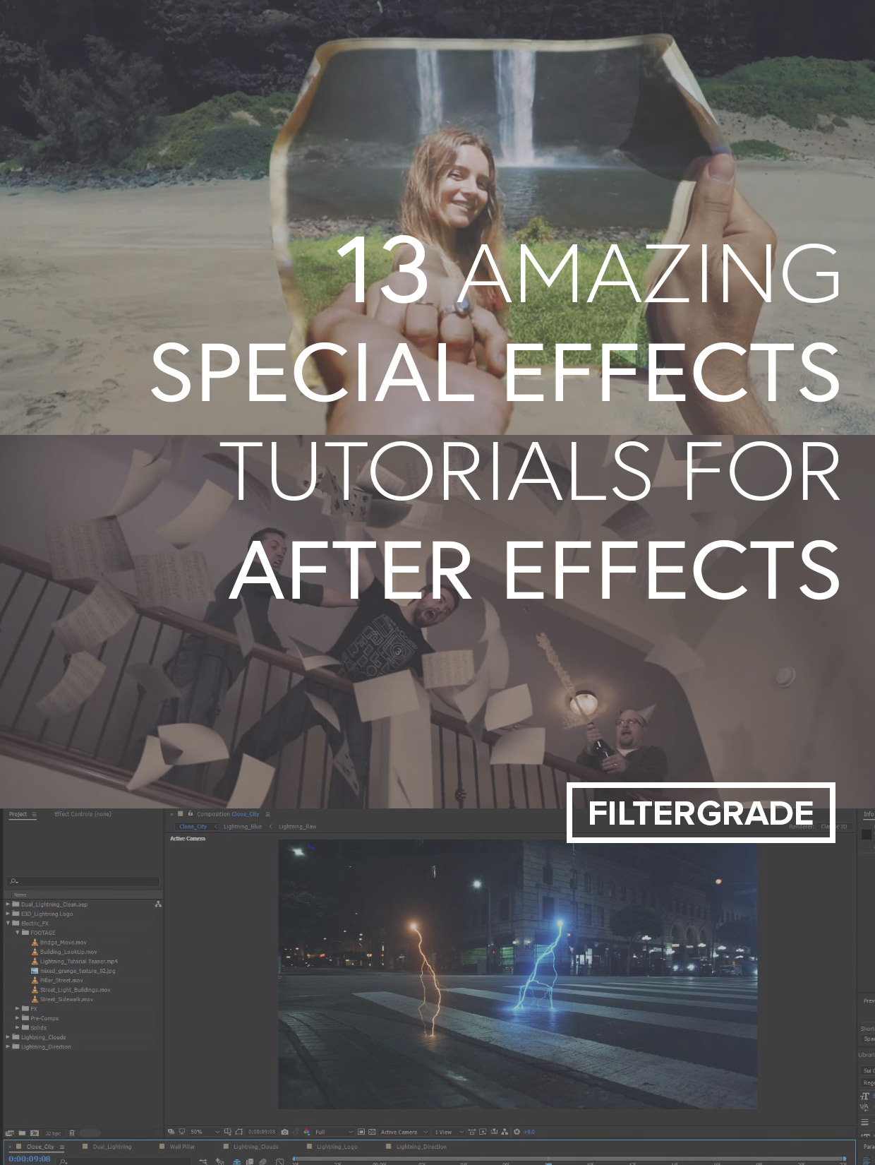 13 Amazing Special Effects Tutorials for After Effects